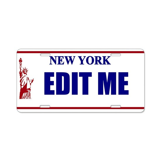 New York License Plate - Statue of Liberty Vanity