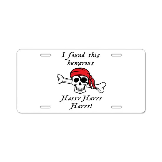 I Found This Humerous Pirat Aluminum License Plate By Mightyawesomedesign Cafepress The humerus (me from latin humerus, umerus upper arm, shoulder; cafepress