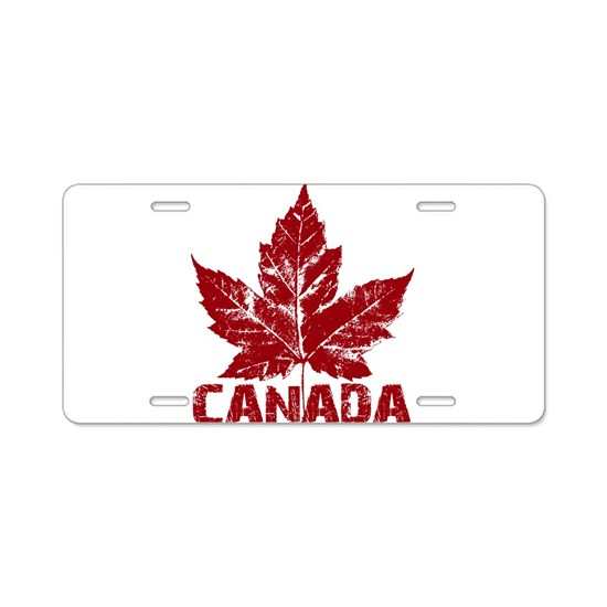 Cool Canada Souvenir Retro Red