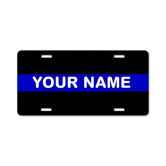 Personalized Thin Blue Line