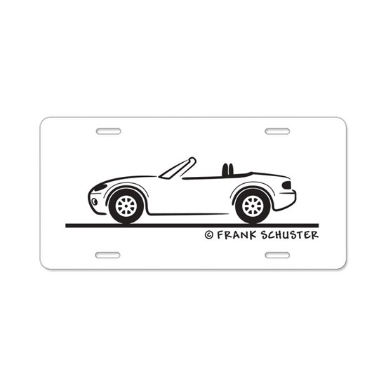 Mazda Miata MX-5 NB Aluminum License Plate by Frank