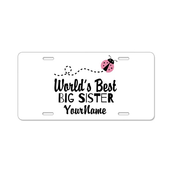 Worlds Best Big Sister - Personalized