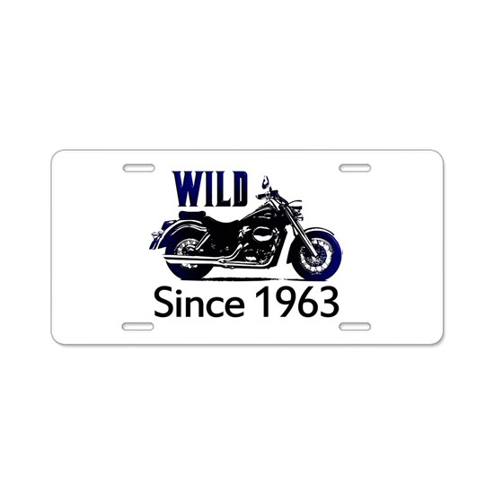50th Birthday Aluminum License Plate By MEGA-CELEBRATIONS