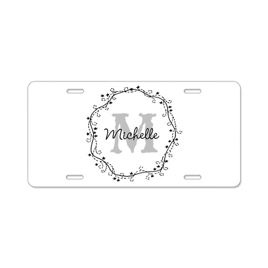 Personalized vintage monogram