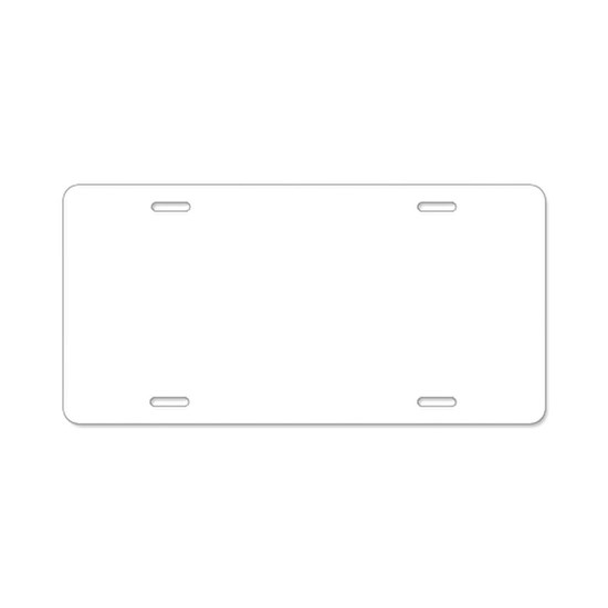 aluminum license plate by reactivecorporation