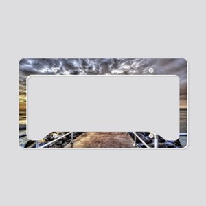 Walk To The Horizon License Plate Holder