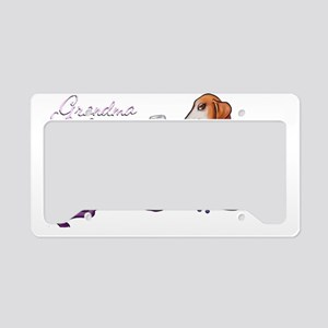 Grandma Wienerette License Plate Holder