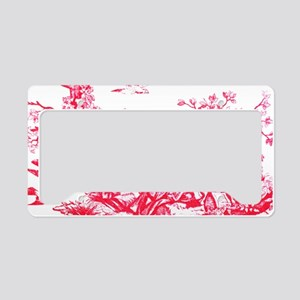 redtoilelaptopskin License Plate Holder