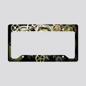 GearsLaptopII License Plate Holder
