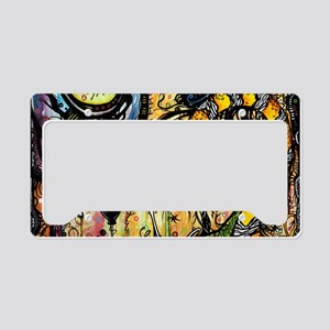 Spaced Out Laptop Skin License Plate Holder