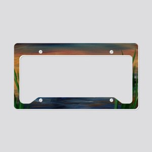 Loon Lake License Plate Holder