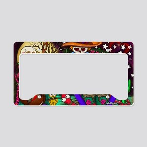 Day of the Dead Music art by  License Plate Holder
