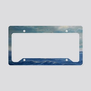 USS COLORADO large posters License Plate Holder