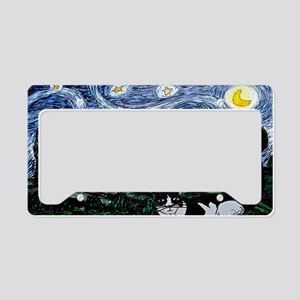 thinking of stars large poste License Plate Holder