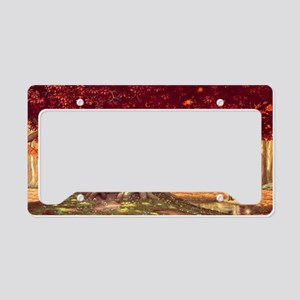 Heart of the World_Poster License Plate Holder