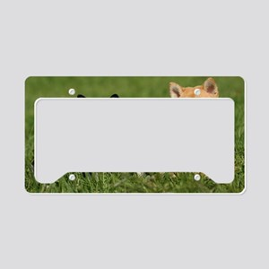 shiba1_laptop License Plate Holder