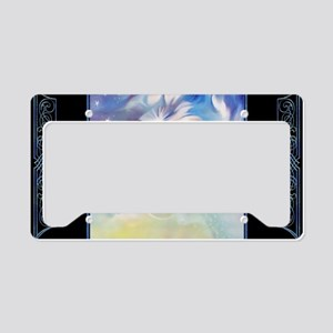 Laptop-Mirage-StarsDelights License Plate Holder