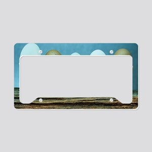 Fresh eggs License Plate Holder