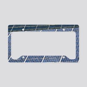 Solar panels License Plate Holder