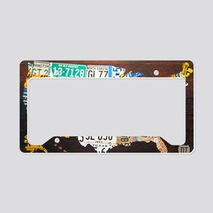 United States License Plate M License Plate Holder