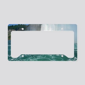 Rainbow and Bridal Falls License Plate Holder