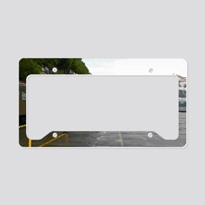 Railway and Cruise Ship License Plate Holder