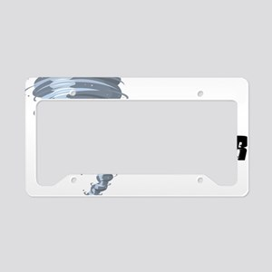 storm chaser1 License Plate Holder