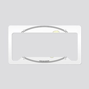 YelLabSill License Plate Holder