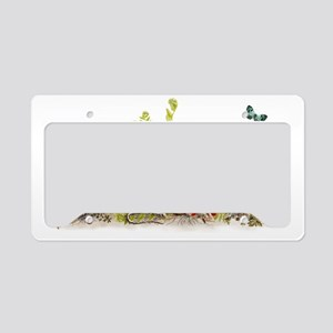 Woodland Mouse - Fabric Patte License Plate Holder