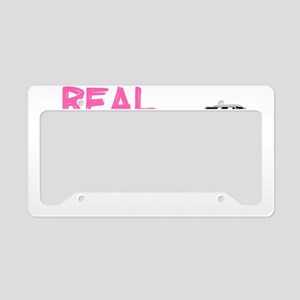 Real Chicks Drive Sticks - Ho License Plate Holder