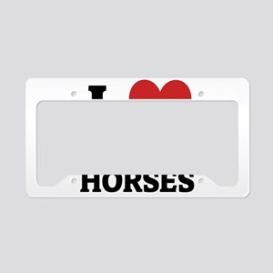 ANDALUSIAN HORSES License Plate Holder
