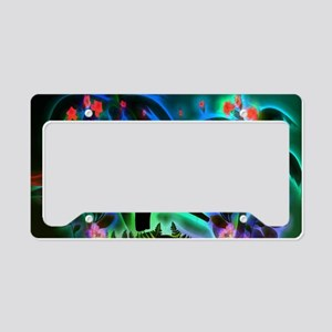 Tropical design License Plate Holder