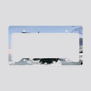 Wonderful longboat, vikking ship License Plate Hol