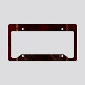 Celtic knote, vintage design License Plate Holder