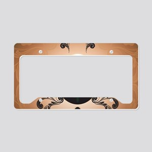 Insight, foresight rune License Plate Holder