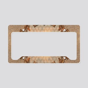 Sport, golfer License Plate Holder