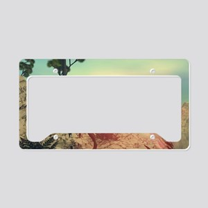 Dilophosaurus License Plate Holder