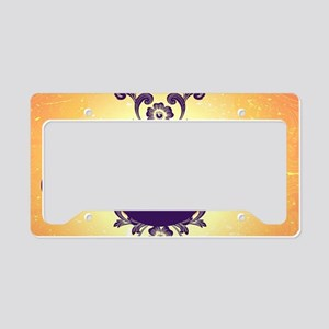 Mourning, the rune License Plate Holder