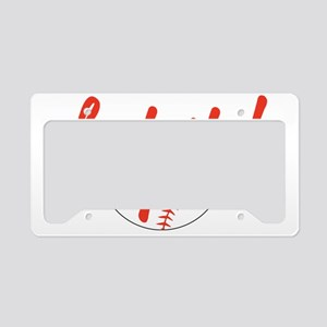 Fast Pitch License Plate Holder