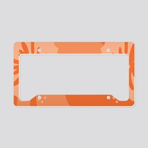 Orange38 License Plate Holder