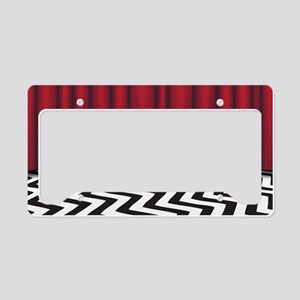 Black Lodge Twin Peaks License Plate Holder