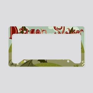 Dragon Slayer License Plate Holder