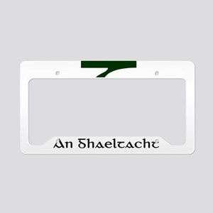 Gaeltacht License Plate Holder