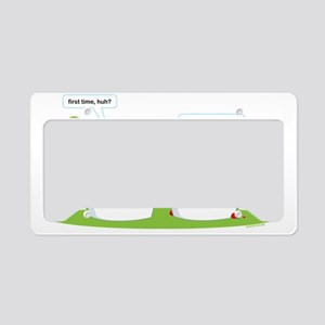 Froyo License Plate Holder