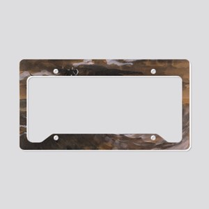 Sailboat on the Sea License Plate Holder