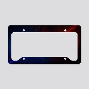 Space License Plate Holder