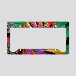 Spiral Regeneration License Plate Holder