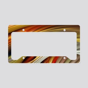 Colors of Art License Plate Holder
