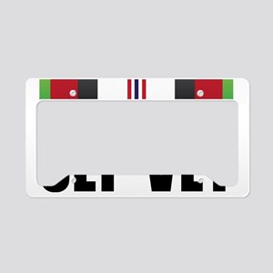OEF VET License Plate Holder
