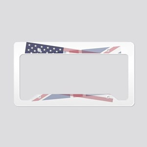 UK/US blended License Plate Holder